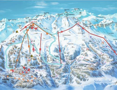 Pistes de ski – Anzère